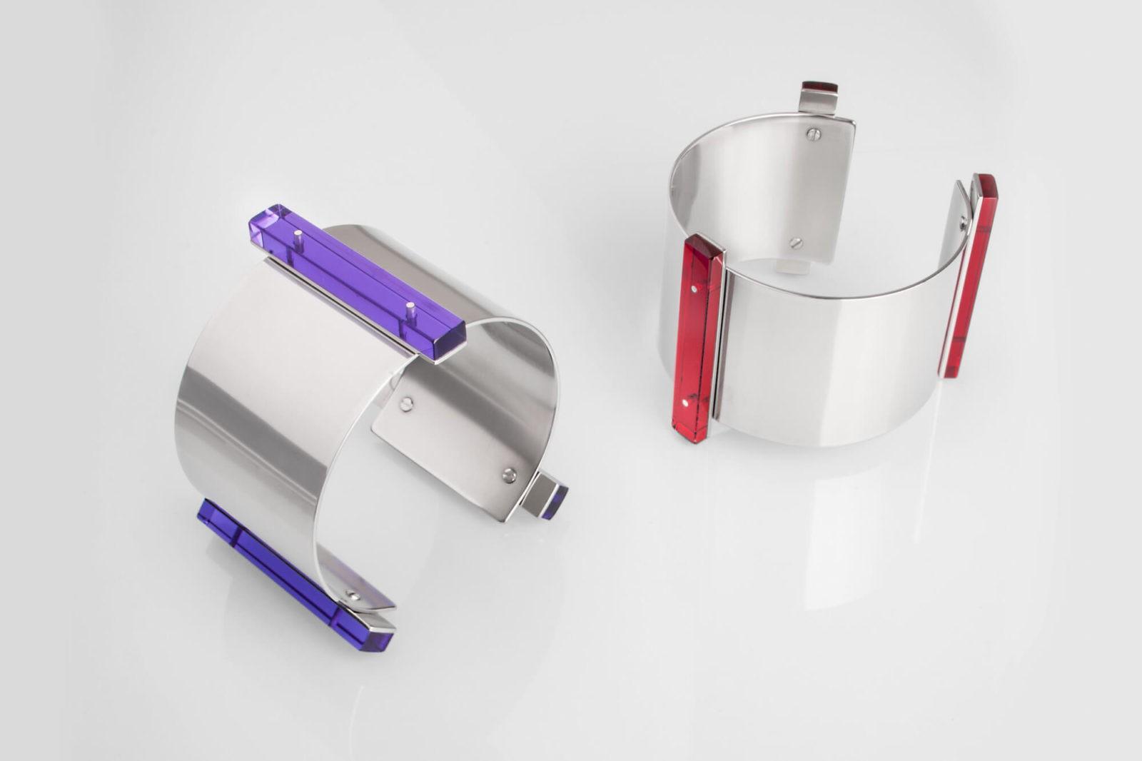 TECHNIC / bracelets / 3 perspex