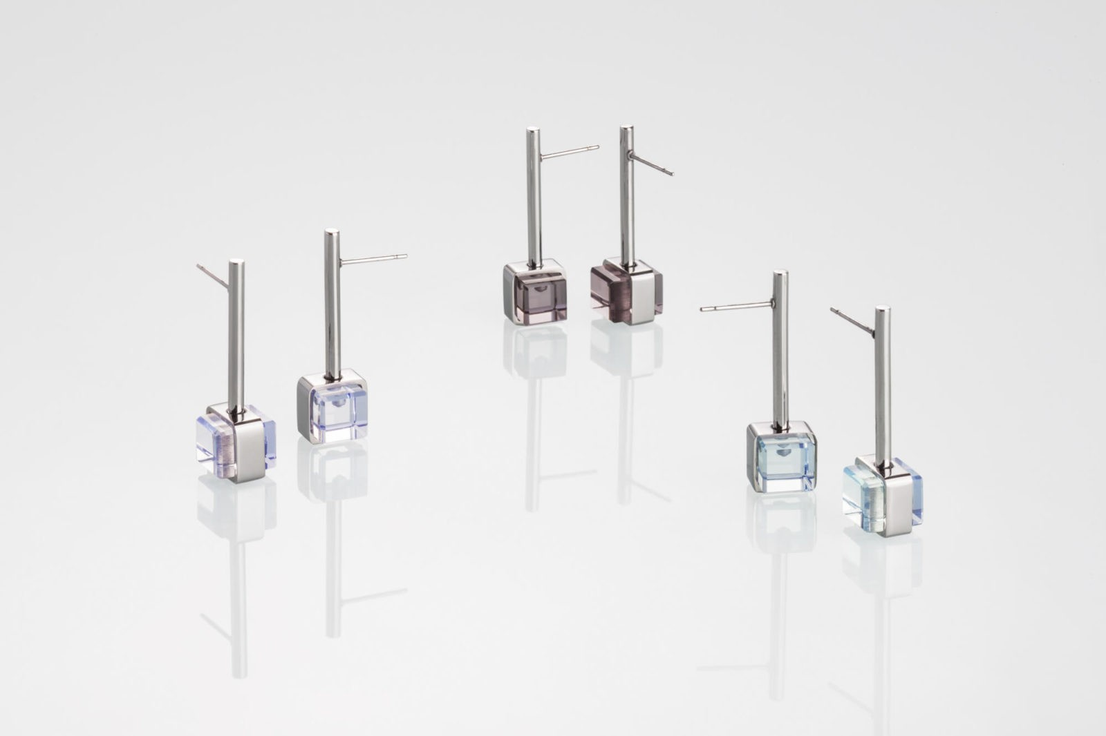 CUBE No2 / earrings