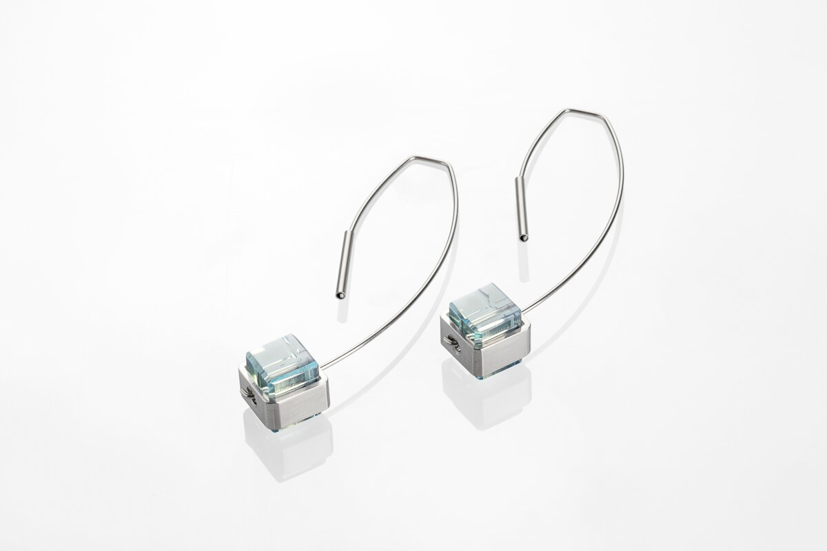 CUBE_No1 / earrings