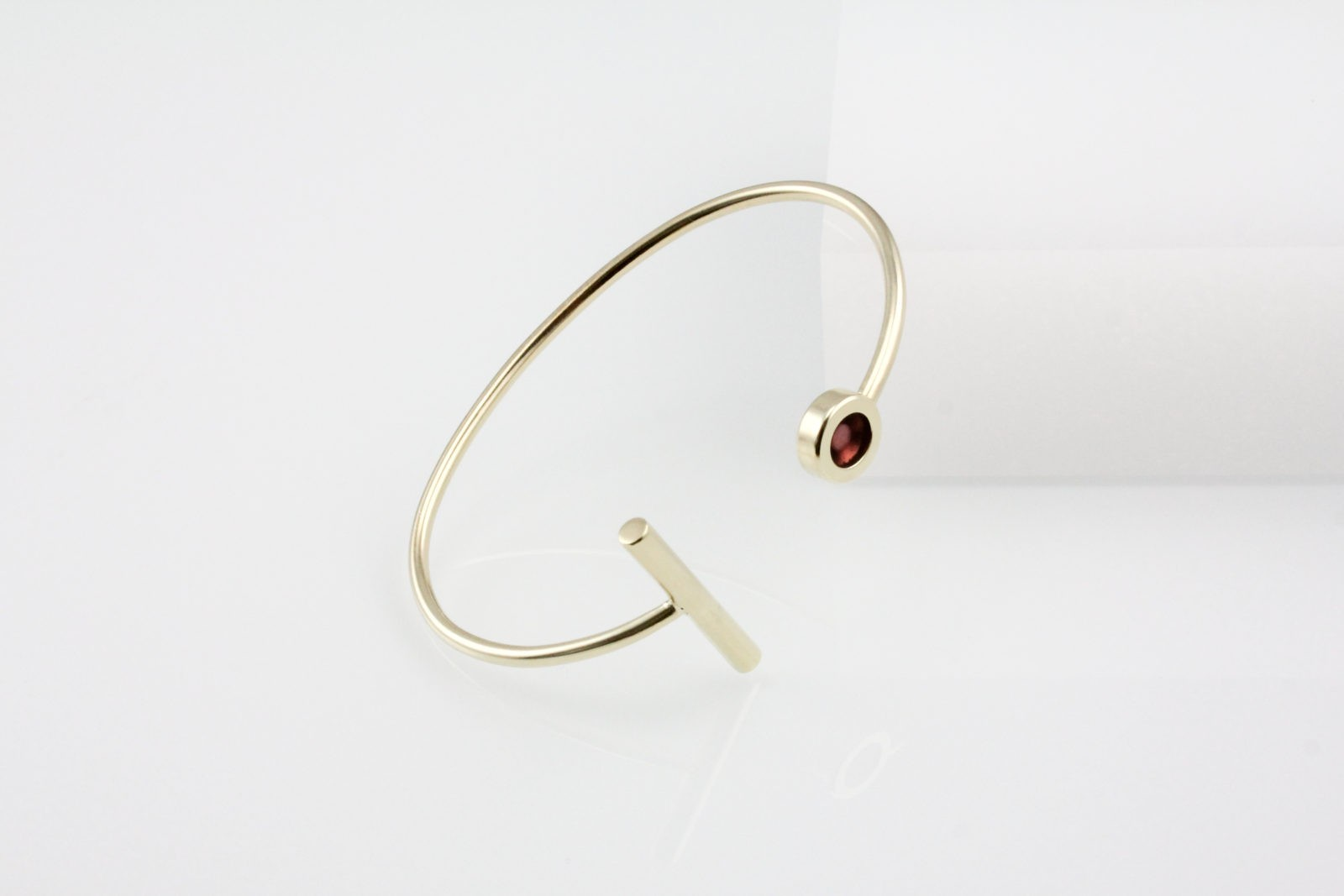 Kyō bracelet stick / gold-plated
