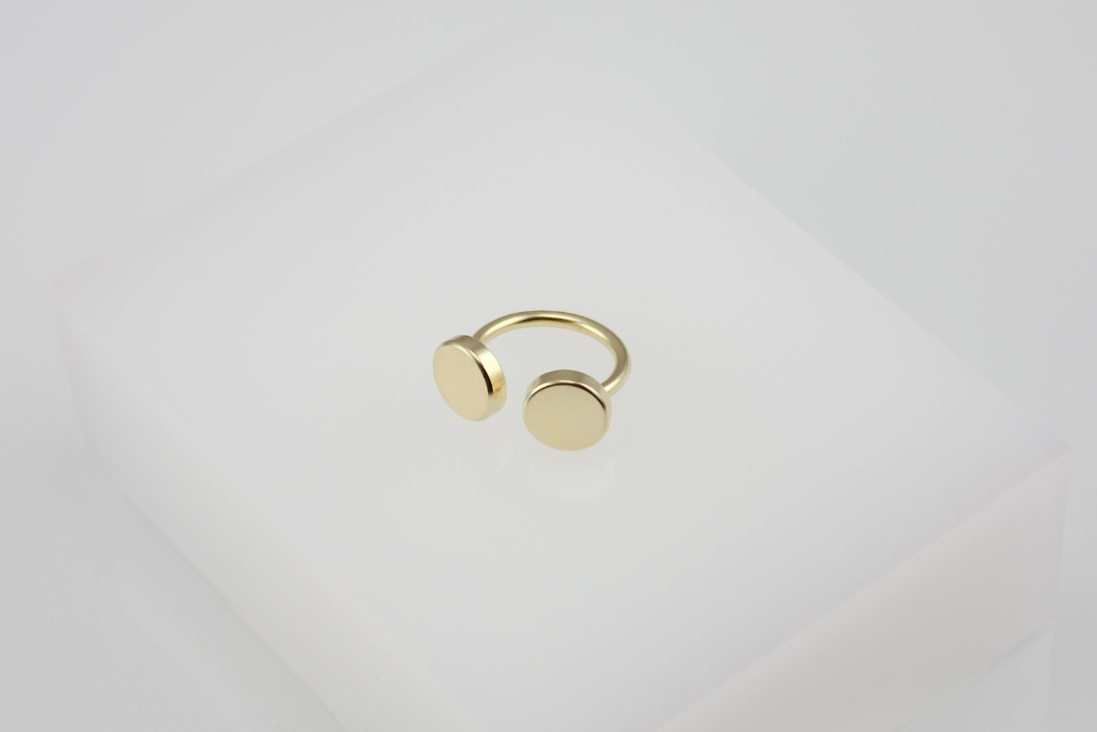 Kyō ring / gold-plated